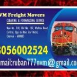 NVM Freight Movers | Chennai Central Stations | door step service | 8