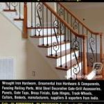 wrought iron railing for stairs manufacturers exporters suppliers India