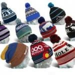 Get Your Winter Started With Logo Beanie With Pom!