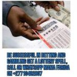 Win the Lotto Now with the supper incredible Magical Lottery Spells.Call+27710482807.South Africa,UK,Australia,Zambia