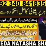 online istikhara center +92340-8418355 man pasaand shadi ki bandish ka hal