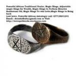 -Powerful Magic Rings for money, Love and Luck Charm call +27718641241