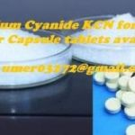 Sell potassium cyanide ( KCN ) pills and powder 99.99%.