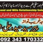 You Want Divorce or Love? Call Peer Syed Haider Ali Shah =00923431703323