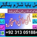 Amil baba in pakistan contact number  +92.313.0518848