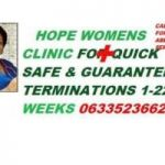 DR HOPE WOMEN'S SAFE ABORTION CLINIC 0633523662 IN CAPE TOWN EFFECTIVE PILLS ON SALE 50% OFF