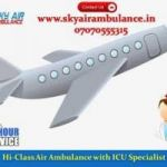 Take Air Ambulance Service in Gwalior with Emergency Facility