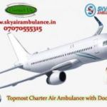 Take Low Fare Air Ambulance Service in Darbhanga with ICU Specialist