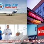 Select the Matchless Air Ambulance from Guwahati