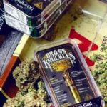 BRASS KNUCKLES Brass Knuckles vape cartridge still uses small holes to vape their hash oil.