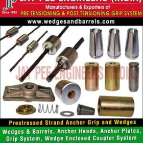Strand Anchor Wedges Grip Systems Manufacturers Suppliers Exporters in India