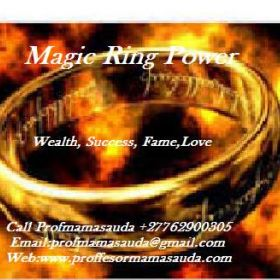 Pastors magic ring for performing miracles and wonders +27762900305