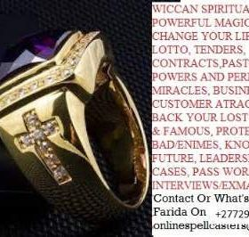 """{""""Luxurious Powerful Magic Ring for Luck,Success,Happiness,Fame and Rituals""""}+27710482807"""