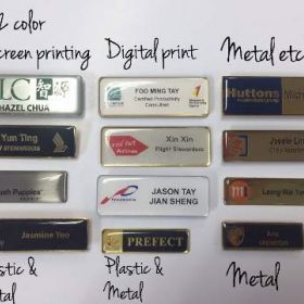 Available Staff name tags in Singapore @Renosis