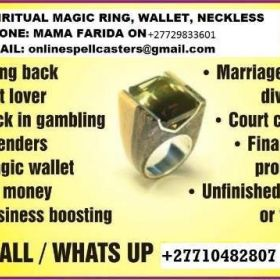 "Advantageous Wonderful Magic Ring""@4 Prosperity,Fame,Prophecy,Business,Money & Love.+27710482807.South Africa,Namibia,Zambia"