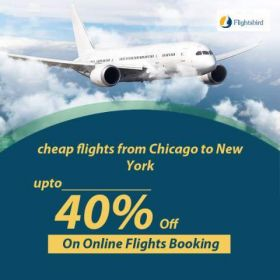 Hurry!! Book Cheap Flights From Chicago to  New York