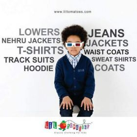 Buy Designer Kids Wear Online From The Latest Boys Clothing Collection of LilTomatoes