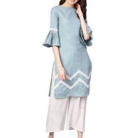 Designer Cotton Kurtis Online for Women - Shop At Mirraw