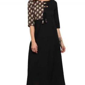 Shop New Black Kurti Styles At Exclusive Discount Offer
