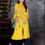 Buy Yellow Kurtis Online At Best Prices | Shop Now at Mirraw