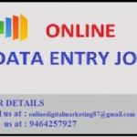 Data entry job is available with us.