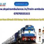 Obtain Train Ambulance Service in Nagpur with Remedial Care