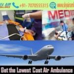 Utilize an Affordable Cost Sky Air Ambulance from Bhubaneswar