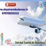 Pick Emergency Air Ambulance Service in Port Blair with Medical Tools