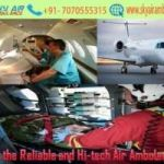 Choose Air Ambulance in Raipur with Evolved Medical Care