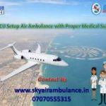 Quickly Book Sky Air Ambulance Service in Aligarh with ICU Facility