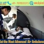 Select Air Ambulance in Bhopal with Life-Care Facility