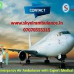 Hire Sky Air Ambulance Service in Amritsar with Medical Expert