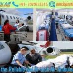 Pick Air Ambulance in Varanasi with Entire Modern Medical Tool