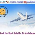 Book Sky Air Ambulance in Ranchi with Medical Setup