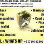 Mystic Powerful Magic Ring For Lost Love Spell, Pastors, Prophecy, Miracles, Instant Money, Win Contracts or Tenders.+27729833601.South Africa