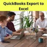 QuickBooks Export to Excel