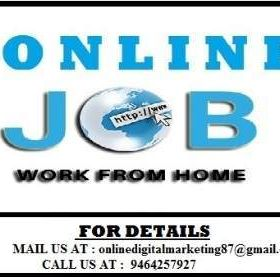 Great opportunity for fresher, student, housewives & retired person.