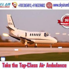 Take the High-Quality Air Ambulance Service in Ranchi