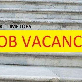 Part time job vacancy for freshers