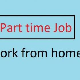 Part time work from home based job hurry up soon
